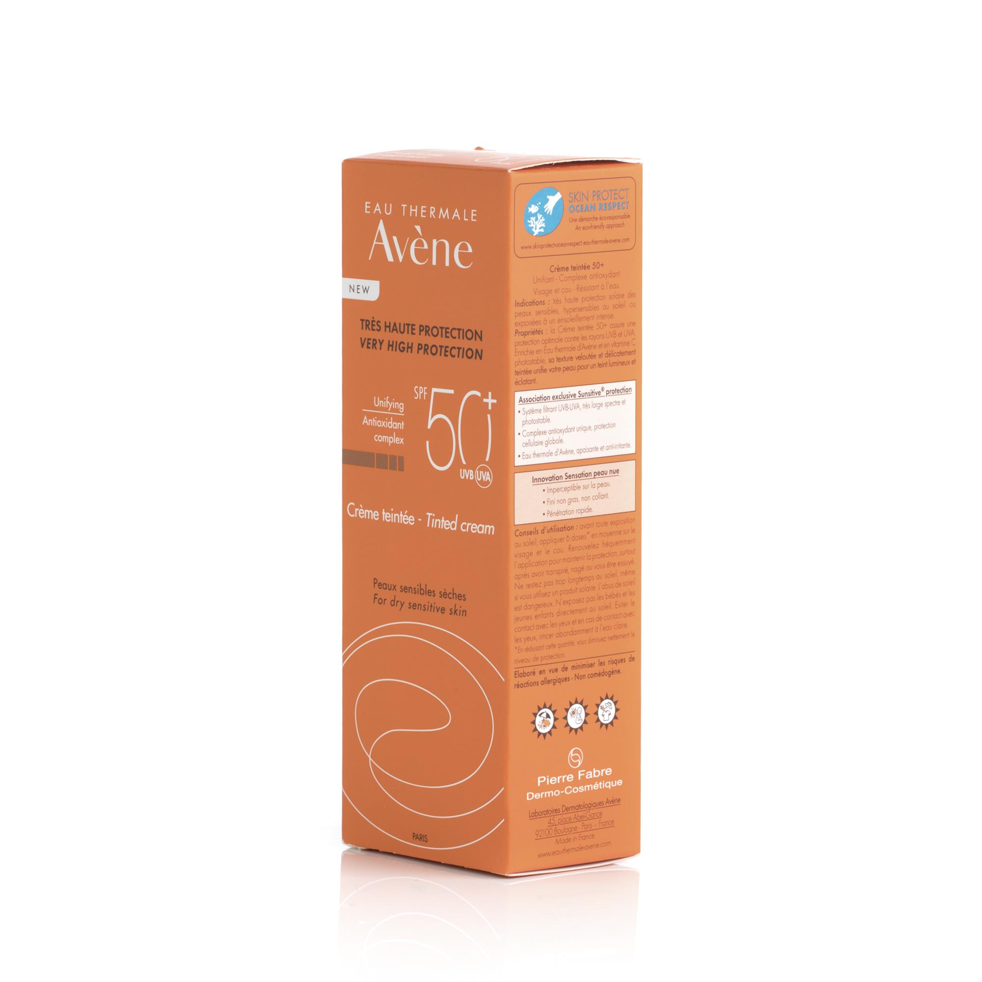 AVENE 50+ CREME TEINTEE 50ML - Beauty, Skin & Hair care..
